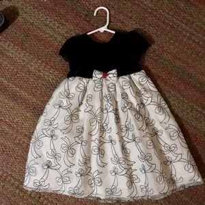 Other - Sweet party dress black and white 4T